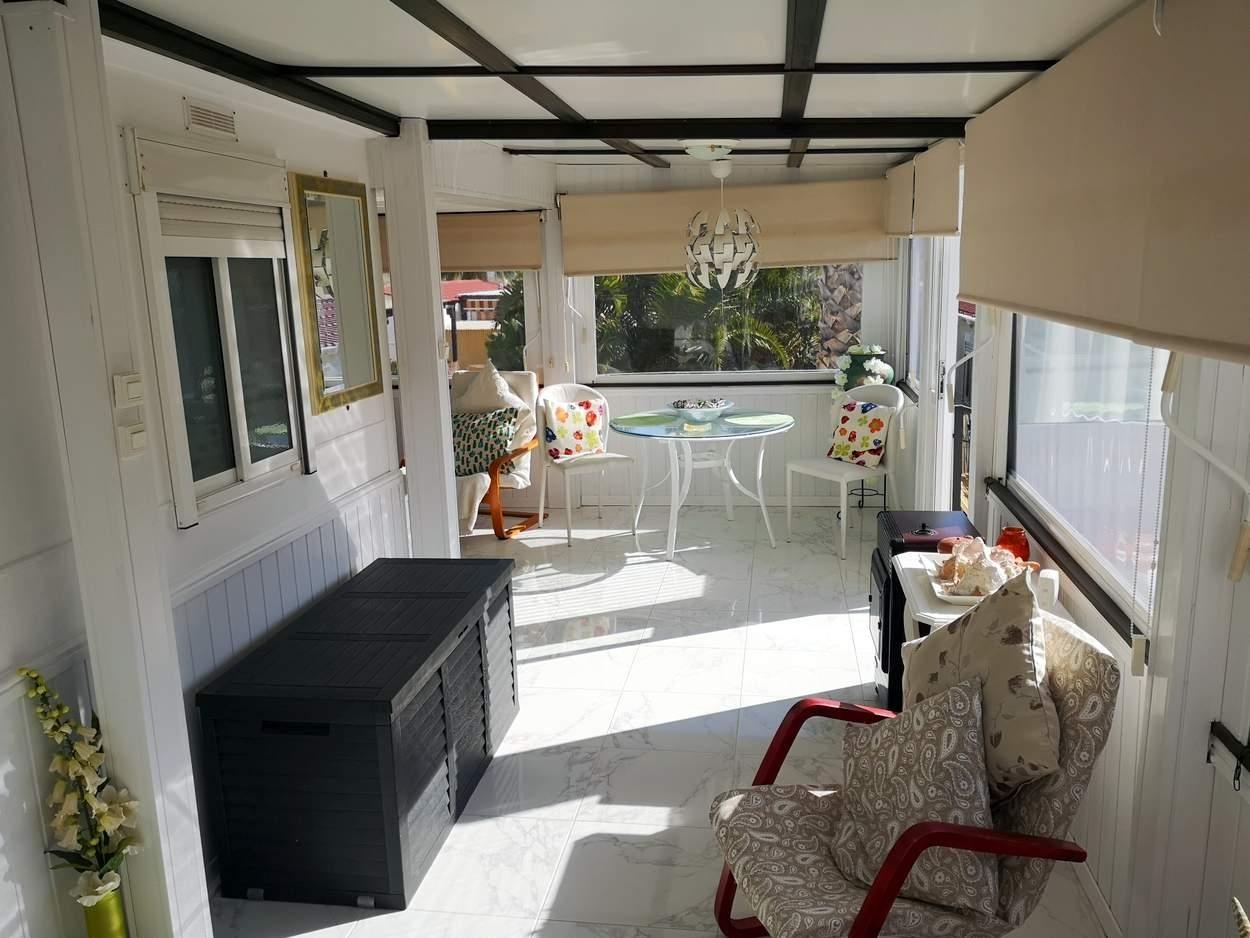 Patio with garden room