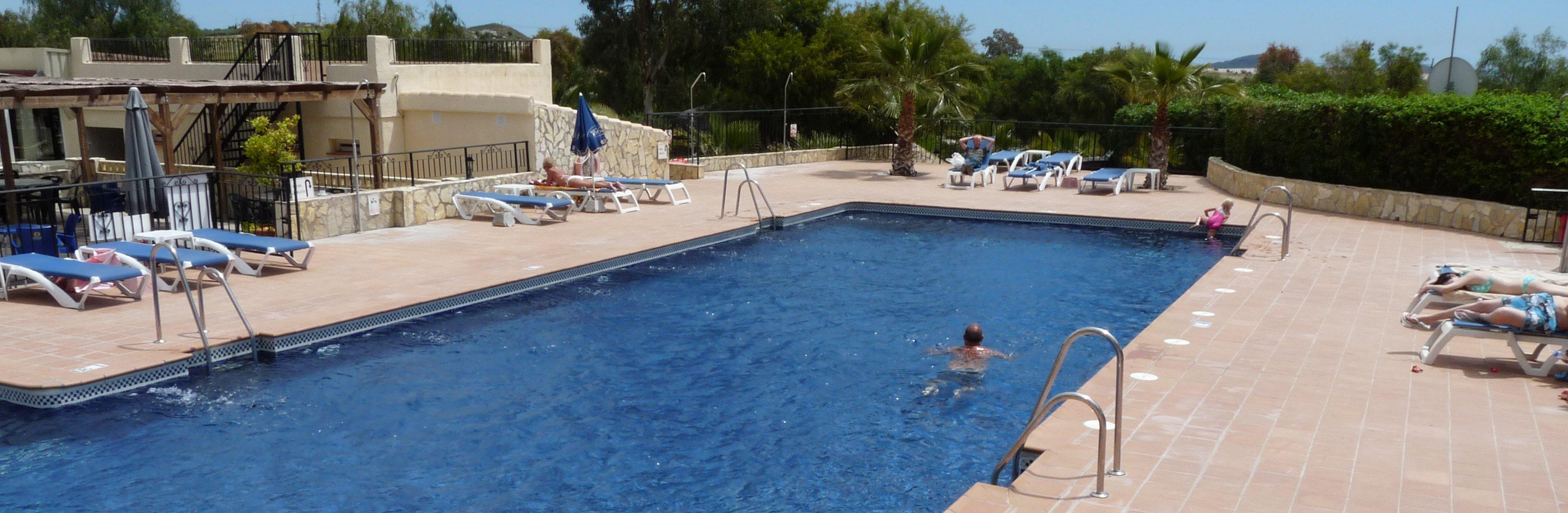 camping piscina palmera los gallardos mojacar cabo de gata parque natural