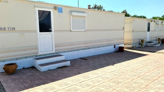 Outside of the holiday home : 1 bed, 1 bath mobile home for sale in Calle Mayor