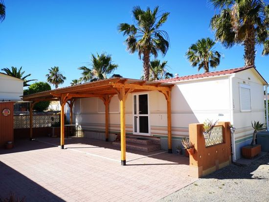 Outside of 24 Las Rosas : 2 bed, 2 bath mobile home for sale in Las Rosas
