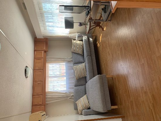 Living room : 2 bed, 1 bath mobile home for sale in Las Rosas