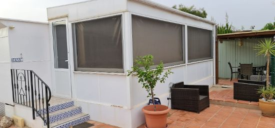 Outside of the home : 2 bed, 1 bath mobile home for sale in Las Adelfas