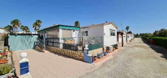 Outside of the home : 3 bed, 1 bath mobile home for sale in Las Mimosas