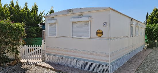 Outside of the home : 2 bed, 2 bath mobile home for sale in Las Adelfas