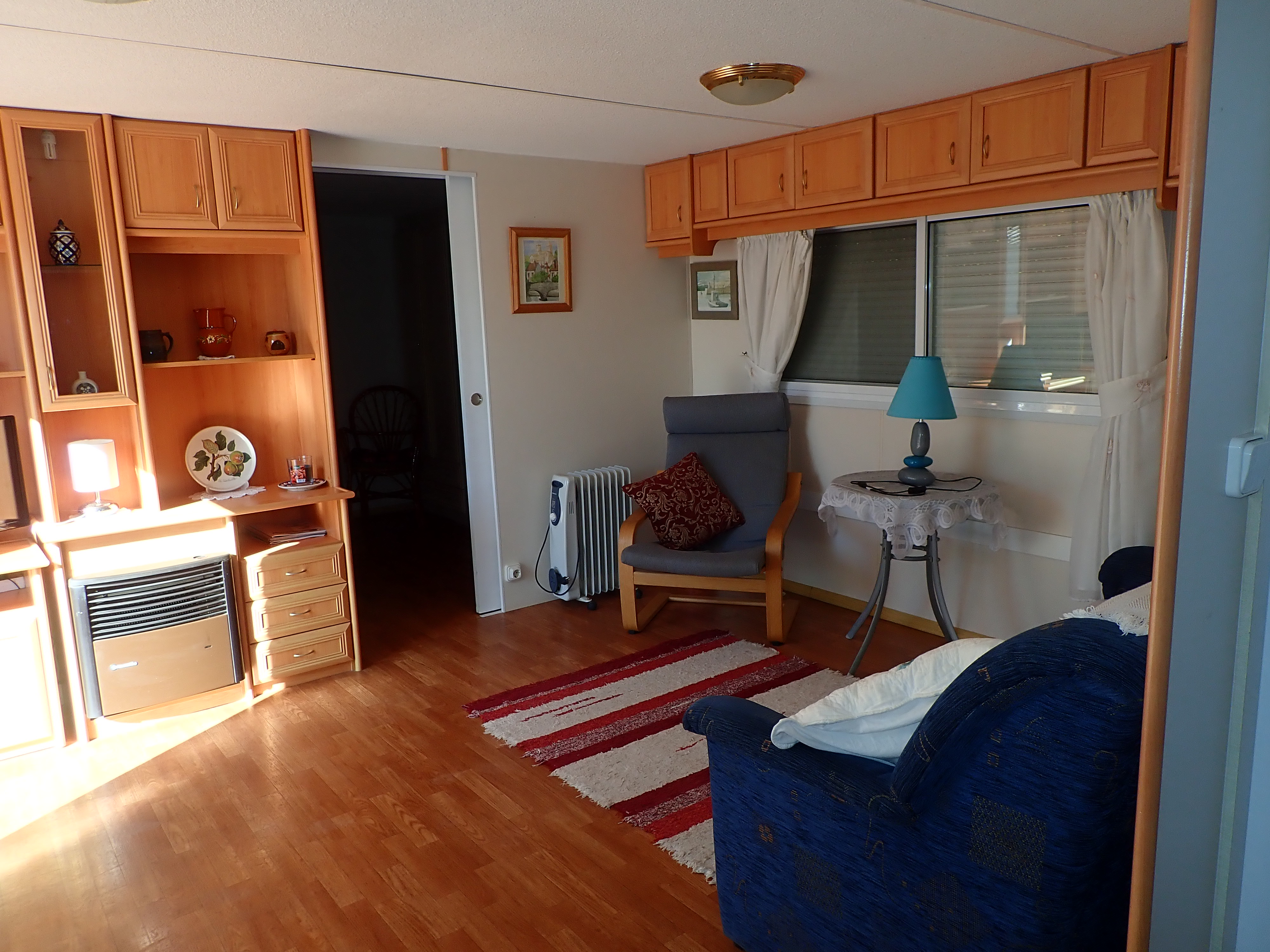 2 bed, 1 bath mobile home for sale in Las Bouganvillas