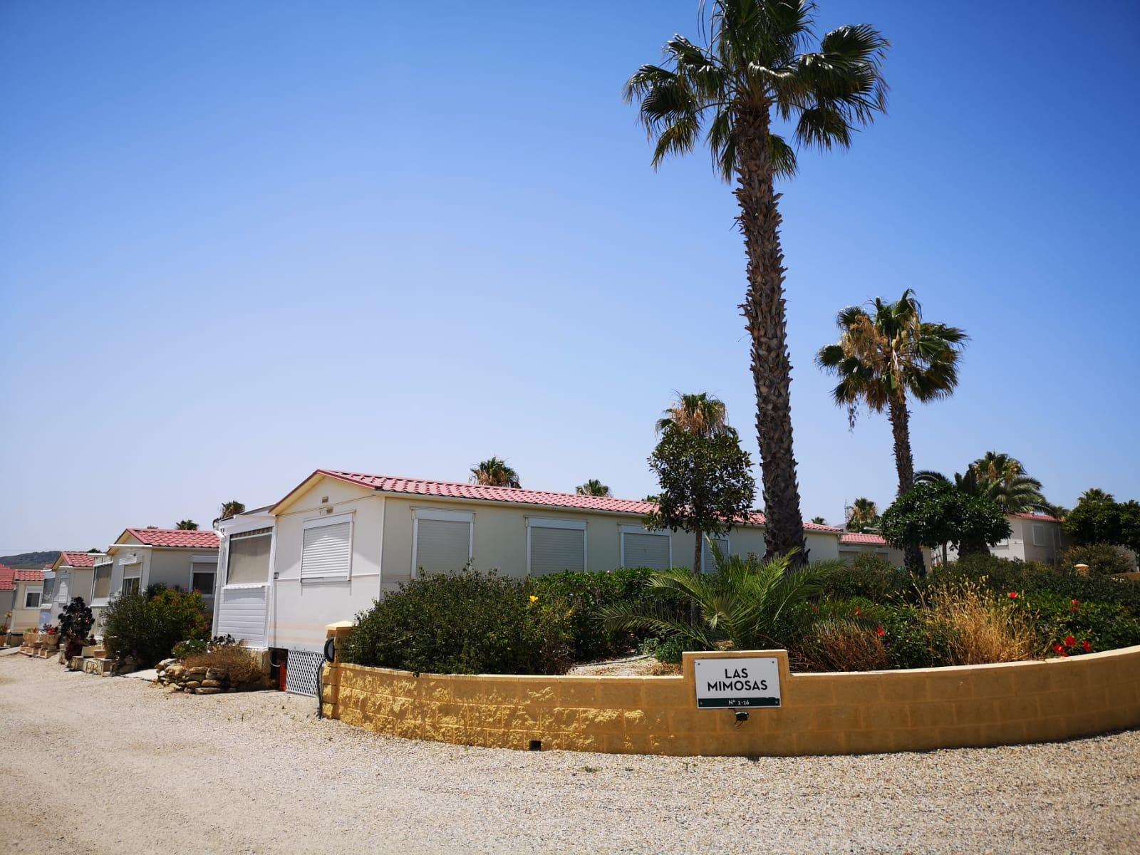 2 bed, 1 bath mobile home for sale in Las Mimosas